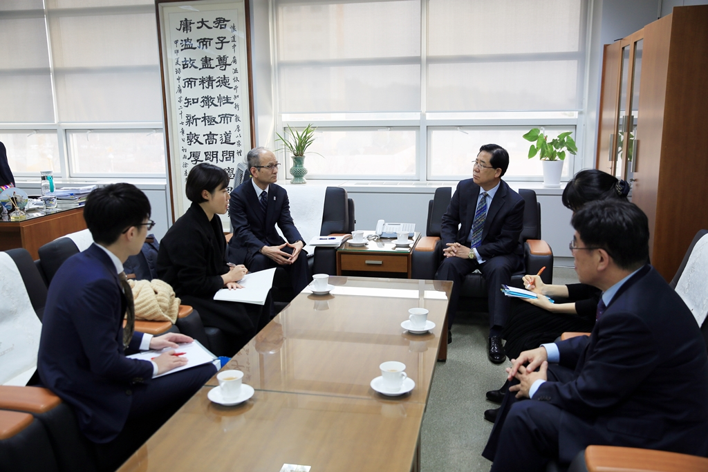 Delegation from Hyogo Prefecture, Japan Visits NEAR Secretariat