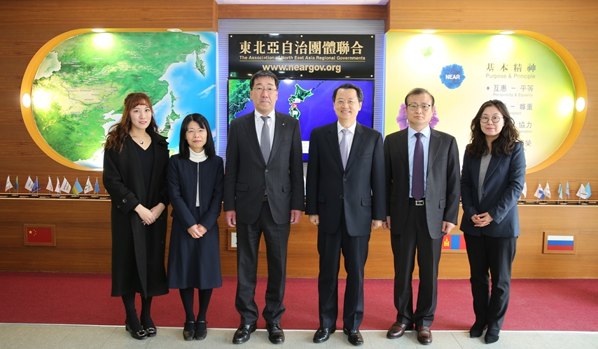 Delegation of Shimane, Japan Visits the NEAR Secretariat for Business Consultation on Tuesday, January 14