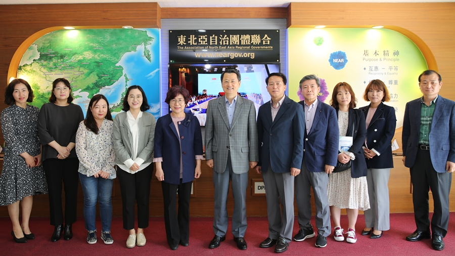NEAR Secretariat Discusses Business Cooperation Methods with the Secretariat of Daegu Gyeongbuk Win-Win Committee on Wed. May 20
